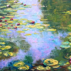 Melodies Of Monet By Graham Denison. SOLD
