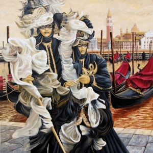 'Magnificent Masquerade' By Graham Denison. SOLD