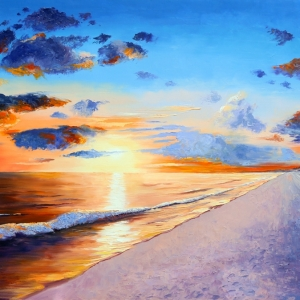 'My Beach' by Graham Denison. Original available