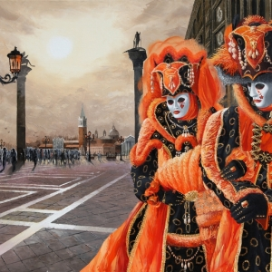 'Morning's Masquerade' Graham Denison. Originl SOLD Prints available