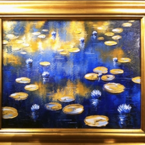 'Royal Lilies' by Graham Denison. Original SOLD