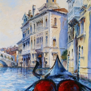 'Gondola For two' By Graham Denison. Available