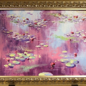 'Pat's Pink Pads' by Graham Denison. SOLD