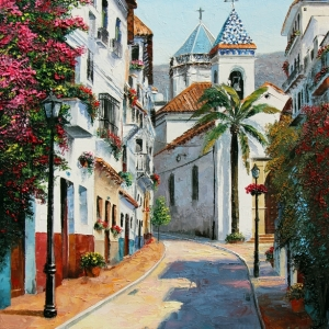 'Our Marbella' By Graham Denison. SOLD