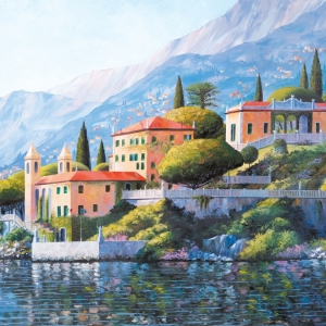 'Villa Balbianello' by Graham Denison. Original & prints available