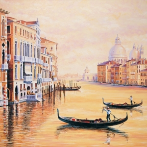 'Reflections of Venice' by Graham Denison. SOLD. Prints available