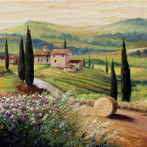 'Under a Tuscan Sun'. By Graham Denison. SOLD
