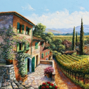'Chianti Country' By Graham Denison. Available