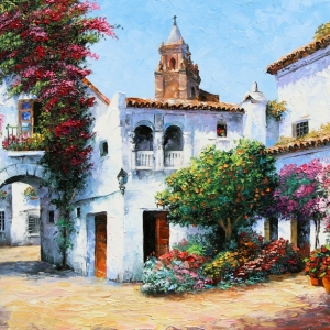'My Andalusia' By Graham Denison. SOLD