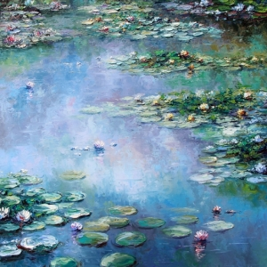 Dreams Of Monet's Garden. By Graham Denison. SOLD