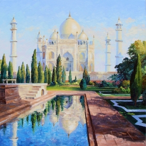 'Taj Mahal' By Graham Denison. SOLD