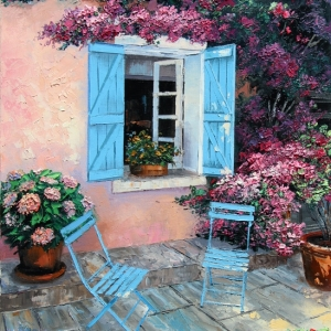 'Pause En Provence' By Graham Denison. SOLD