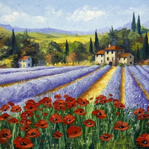 'Touches Of Tuscany' by Graham Denison. SOLD. Prints available
