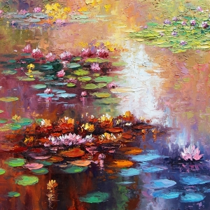'Lilies For Laurel' By Graham Denison. SOLD