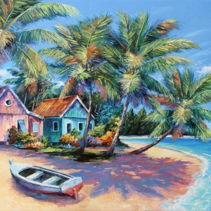 'Caribbean Dreamin' By Graham Denison. SOLD